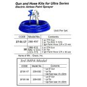 270117 GUN & HOSE KIT MODEL 239-032 FOR ULTRA SERIES PAINT SPRAYER