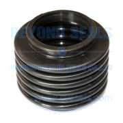 Custom 50mm high elastic telescopic rubber bellows