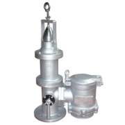 Others High-speed vent valve with forced closing device and other accessories
