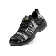 飞织迷彩安全鞋