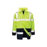 Winter Overall Parkas with Reflective Tapes High visibility, waterproof