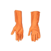 Plastic Gloves (Oil & Acid Resistant) Made from oil and chemical resistant plastic