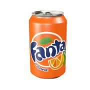 Fanta Orange Bright, bubbly and a popular favorite