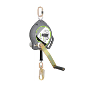 KRATOS Retractable Fall Arrester with Rescue Winch & SS wire rope High impact strength to prevent breakage