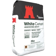 WHITE CEMENT Must-have for sustainability and reusability