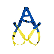 Safetyware Full Body Harness with 1 x Dorsal D-Ring Suitable for roofing, scaffolding & rigging
