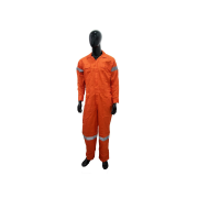 FURICO Eco Cotton Coverall with Silver Reflector Made from 100% cotton fabric