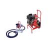 Emergency fire pump for marine diesel engine
