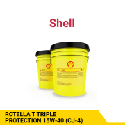 SHELL ROTELLA T TRIPLE PROTECTION 15W-40 (CJ-4)