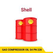 SHELL GAS COMPRESSOR OIL S4 PN 220