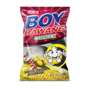 Boy Bawang Cornick Barbeque Philippines Crunchy and delicious barbecue flavor
