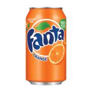 Orange Cans Drink Great fruity taste