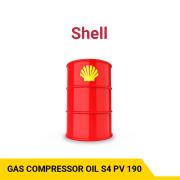 SHELL GAS COMPRESSOR OIL S4 PV 190