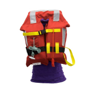 Safetyware Marine Life Jacket for Kids with Whistle & Reflective Stripe GL Certified, free size