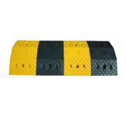 Safetyware Heavy Duty Rubber Speed Hump Modular design ensures quick and easy installation