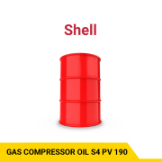 SHELL Gas Compressor Oil S4 Pv 190 Advanced synthetic oil, outstanding performance