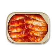 Sardines in Tomato High in protein, vitamin D and Omega-3 fatty acids