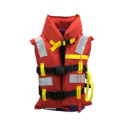 Safetyware Marine Life Jacket with Whistle & Reflective Stripe GL Certified, high quality, light weight