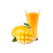 Mango Juice Ready to drink, contains vitamin a, c and e