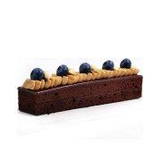HALAL TRI-SLICED Brownie Cheese Cake