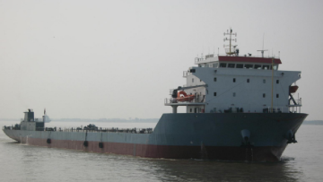 Self Propelled Deck Cargo Ship - China Domestic