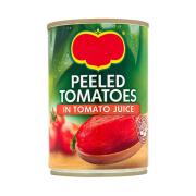Tomato Whole Rich in Vitamin c with fair amounts of fibre