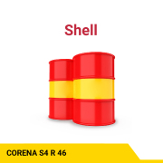 SHELL Corena S4 R 46 Advanced synthetic rotary air compressor oil