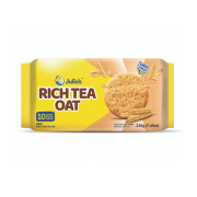 Julie's Rich Tea Oat A perfect biscuit to go with tea