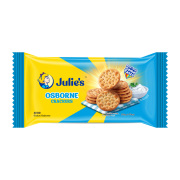 Julie's Osborne Crackers Light earthy taste, texture, and aroma