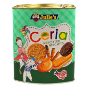Julie's Ceria Assorted Biscuits Malaysia Wide range of biscuits variety