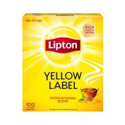 Lipton Tea Strong, rich taste & invigorating aroma.