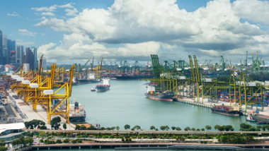 Singapore port introduces new safety measures against COVID-19